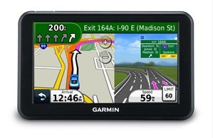 Garmin nuvi 50LM essential jct view
