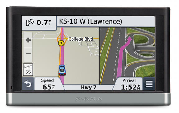 Active lane assist Garmin nuvi 2557LMT